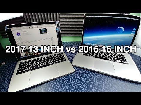 2017 MacBook Pro vs 2015!
