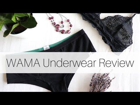WAMA Underwear Review | Hemp Underwear | Eco Friendly Underwear
