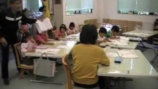 BW教室の公開教室(浜松市)byはやし浩司 BW Children's Club, Hama...