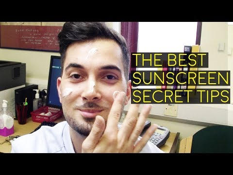 The Best Sunscreen Sunblock Suncream UK | How To Protect Skin From Sunburn | What Does SPF Mean