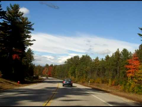 North South Road North Conway New Hampshire during Fall foliage on October 5 2009