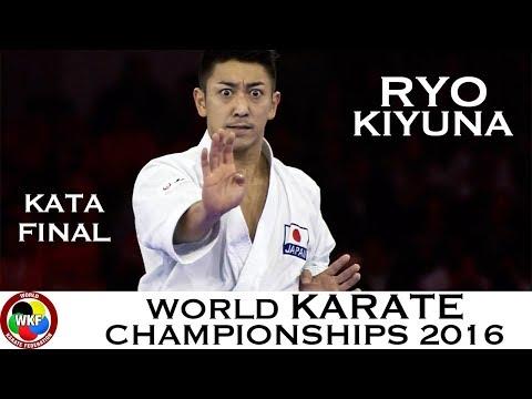 FINAL. Male Kata. KIYUNA (JPN). Kata Anan. 2016 World Karate Championships