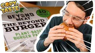"""Baixar Test: BEYOND MEAT BURGER - die """"Hype-Fleisch-Alternative""""? - feat. SPACEFROGS 🍔🚫🐮 Copy & Taste #CaT"""