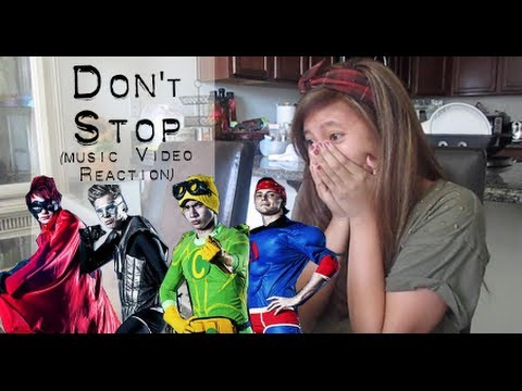 Reaction to Don't Stop - 5 Seconds of Summer (Music Video) | Bonjoursamsam