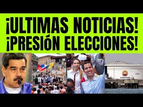 NOTICIAS DE HOY EN VENEZUELA! PRESION ELECCIONES GUAIDO MADURO VENEZUELA HOY 18 AGOSTO