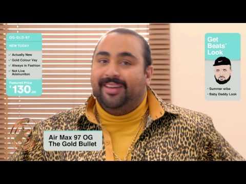 Kurupt FM & Sneakersnstuff presents Nike Air Max 97 'Gold Rush'
