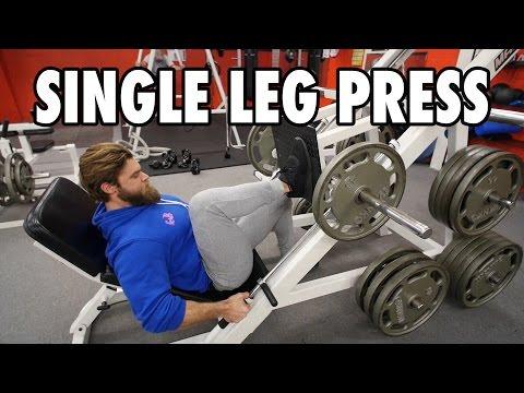 SINGLE LEG PRESS | Legs | How-To Exercise Tutorial
