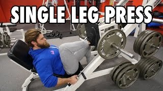 SINGLE LEG PRESS | Legs | How-To Exercise Tutorial