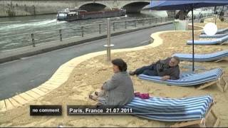 Riverside Beach Opens In France - No Comment
