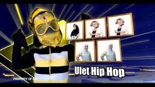 Aksi Ulet Hip Hop Bikin Juri Panelis Emosi! | The Mask Singer Eps. 11 (5/9) GTV 2018