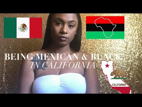 """Being Biracial """"Black And Mexican"""" In California"""