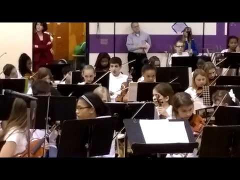 Warner upper elementary school concert 2015