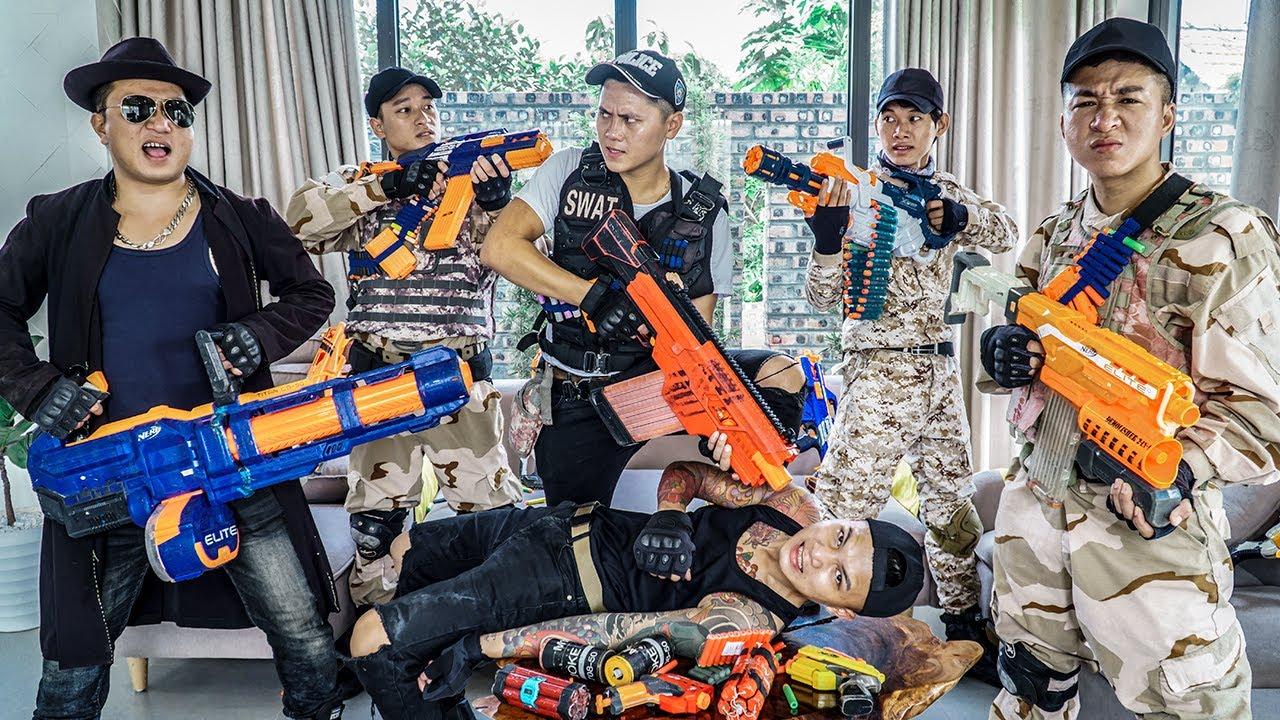 LTT Nerf War : Apprentice Squad Leader SEAL X Warriors Nerf Guns Fight Dr Ken Crazy Avenger