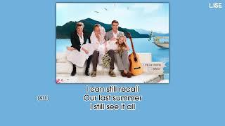 "Cast of Mamma Mia the Movie - Our Last Summer (From ""Mamma Mia!"") [Lyrics Video]"
