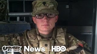 Soldier Speaks About Trump's Trans Military Ban (HBO)