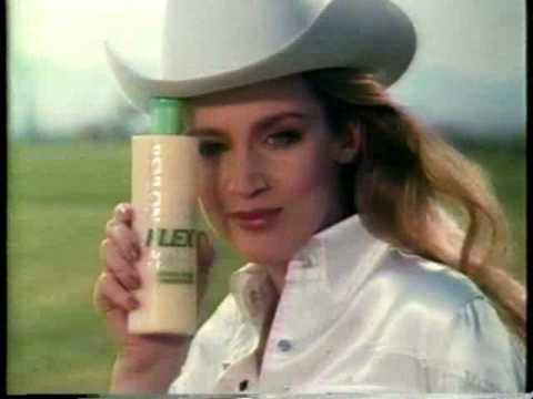 Revlon Flex Shampoo Jerry Hall 1984