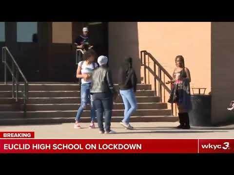 Euclid High School on lockdown