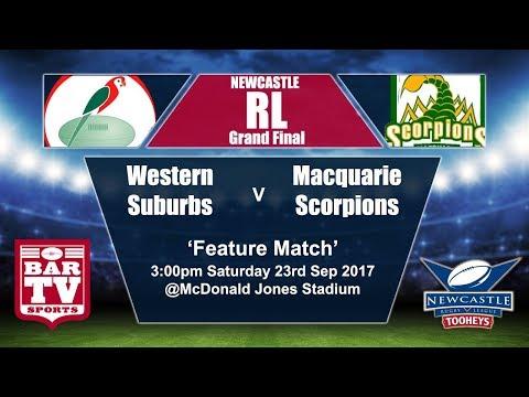 2017 Newcastle RL Grand Final - Western Suburbs v Macquarie Scorpions
