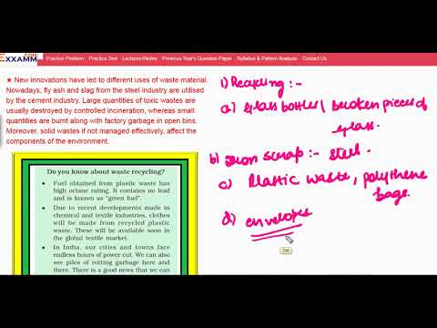 Industrial waste|Class11 Chapter14|CBSE|NCERT