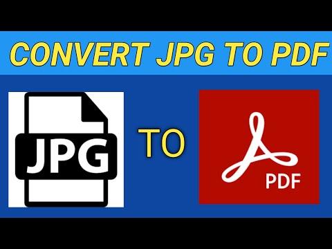 Convert jpg to pdf | jpg image to pdf format | jpg to pdf file converter | tech chandan |