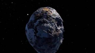Psyche Asteroid A Metal Ball the Size of Massachusetts