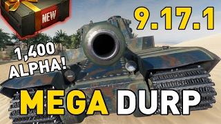 World of Tanks || Patch 9.17.1 - Type 5 Heavy - MEGA DURP