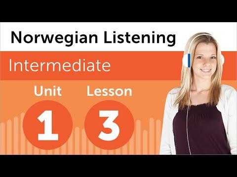 Norwegian Listening Practice - At the Hairdresser in Norway