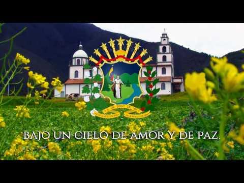 """Himno del Estado Táchira """"Las Glorias de la Patria"""" (Completo - con letras)"""