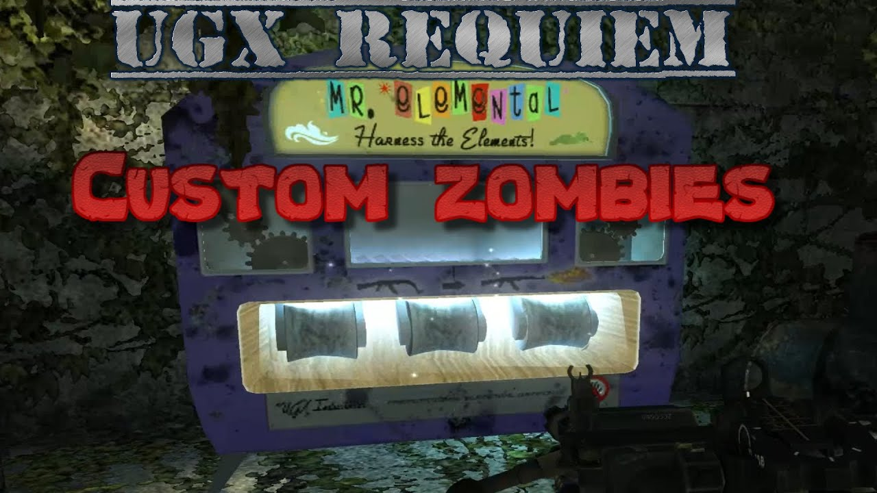 UGX Requiem ELEMENTAL PACK A PUNCH AND TRAPS!!! Solo - World at war ...