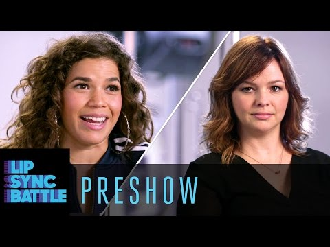 Preshow: America Ferrera vs. Amber Tamblyn | Lip Sync Battle