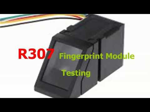 Getting Started with the Fingerprint Sensor - testing R307