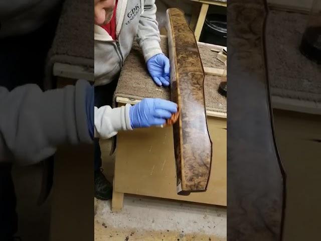 Classic car wood restoration