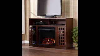 Narita Electric Fireplace TV Stand And Entertainment Center By SEI | AGreat FirePlace But Will It