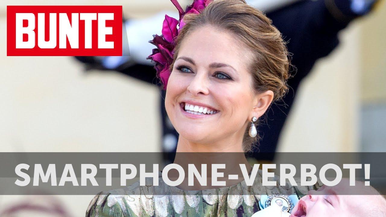 Madeleine von Schweden: Smartphone-Verbot! - BUNTE TV