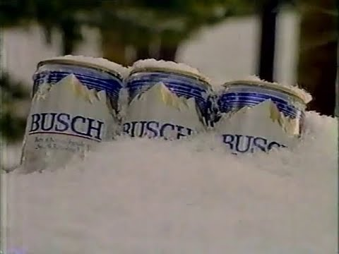 1986 - Busch Beer - Holiday Sweepstakes (with Billy Kidd) Commercial