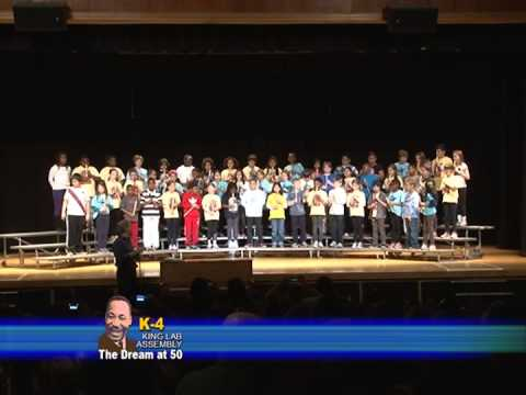 Dr. Martin Luther King Jr. Literary and Fine Arts School K-4 Assembly