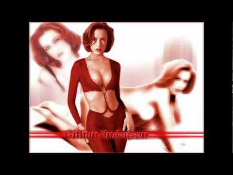 X Files   Agent Dana Scully Beautiful  Gillian Anderson    Chica Bomb  2012
