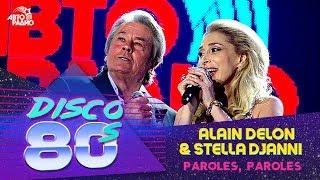 Alain Delon & Stella Djanni - Paroles, Paroles (Disco of the 80s Festival, Russia, 2009)