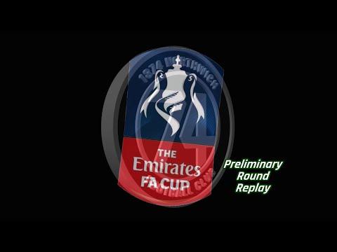 1874 Northwich v Colne FA Cup Prelim Rnd Replay 23/08/2016