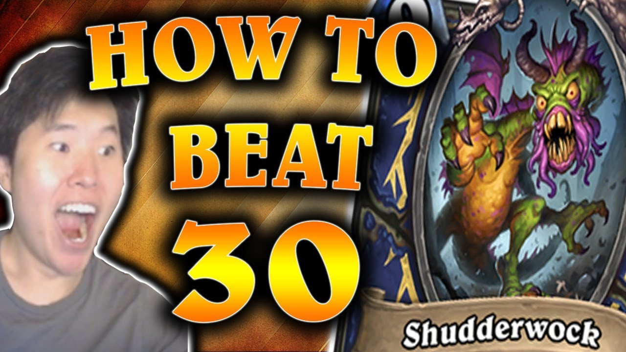 Video How to Beat 30 SHUDDERWOCKS | Quest Priest | THE WITCHWOOD | HEARTHSTONE | DISGUISED TOAST