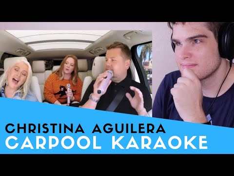 Voice Teacher Reacts to Christina Aguilera - Carpool Karaoke