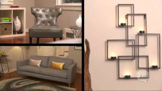 Minute Makeover: A Dull Living Room Turns Into A Stylish Focal Point