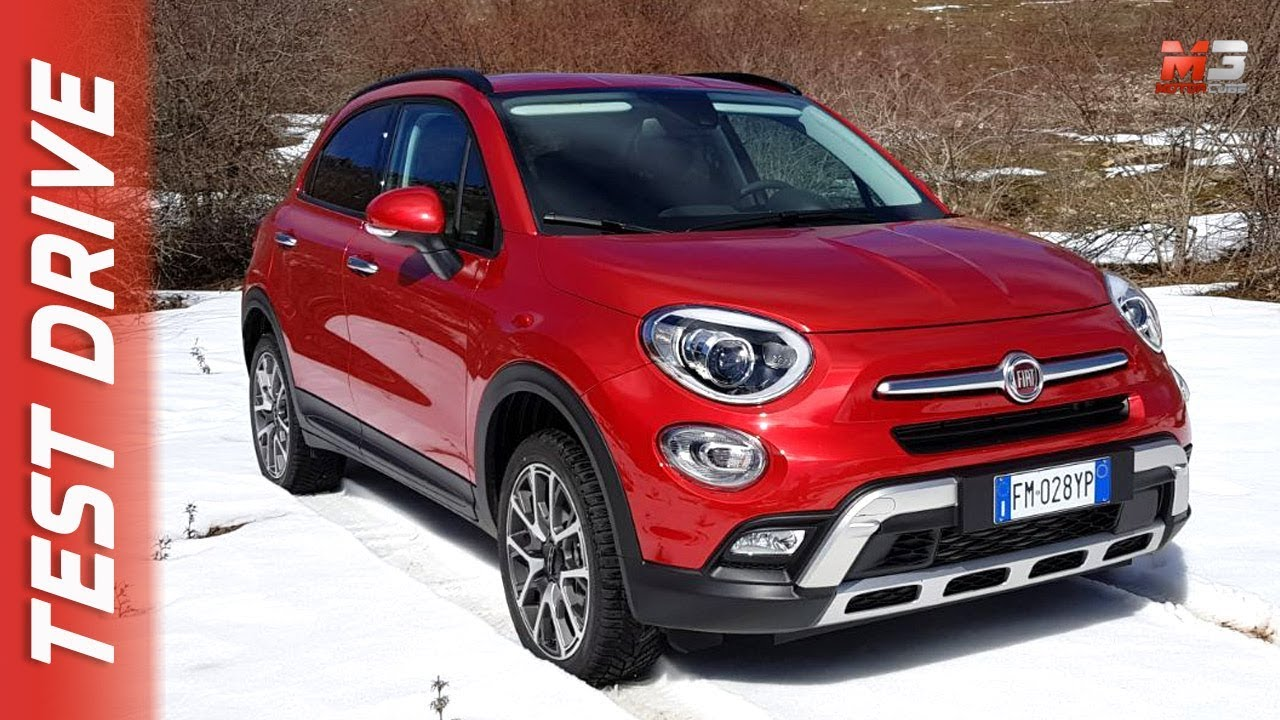 new fiat 500x cross 4x4 2018 first snow test drive youtube. Black Bedroom Furniture Sets. Home Design Ideas