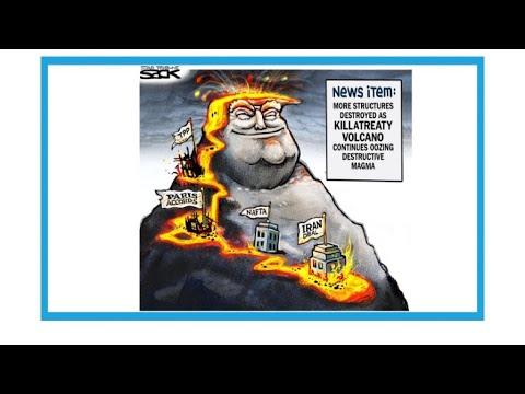 """Trump et l'Iran: """"Aux Etats-Unis, nouvelle éruption du volcan Killatreaty"""""""