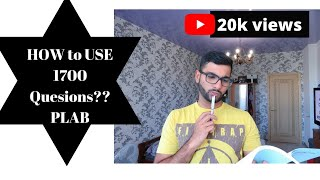 How to use 1700 questions to study for PLAB | PLAB SERIES