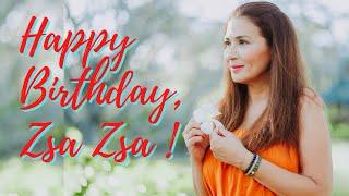HAPPY BIRTHDAY, ZSA ZSA!