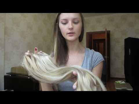 Волосы на заколках VK