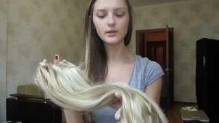видео Как крепить волосы на заколках на короткие волосы ❤ GlamTimeHair