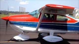 Decolagem - Cessna 182N Skylane - PT-DNQ