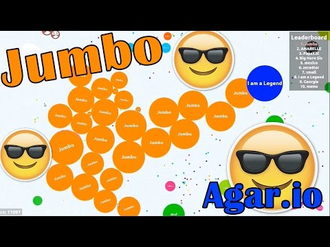 Awesome Solo & Team Gameplay - Agar.io (18,090)